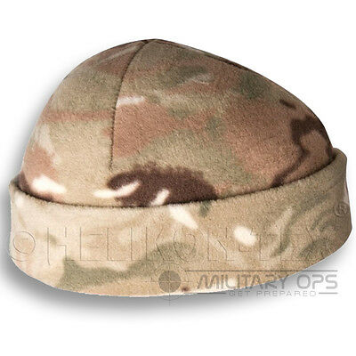 HELIKON ARMY MILITARY TACTICAL BEANIE HAT FIELD CAP WINTER DOCKER CAMO FLEECE