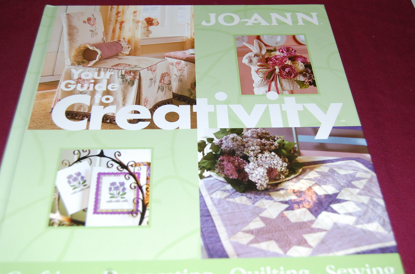 your guide to creativity by joann fabrics hardcover new