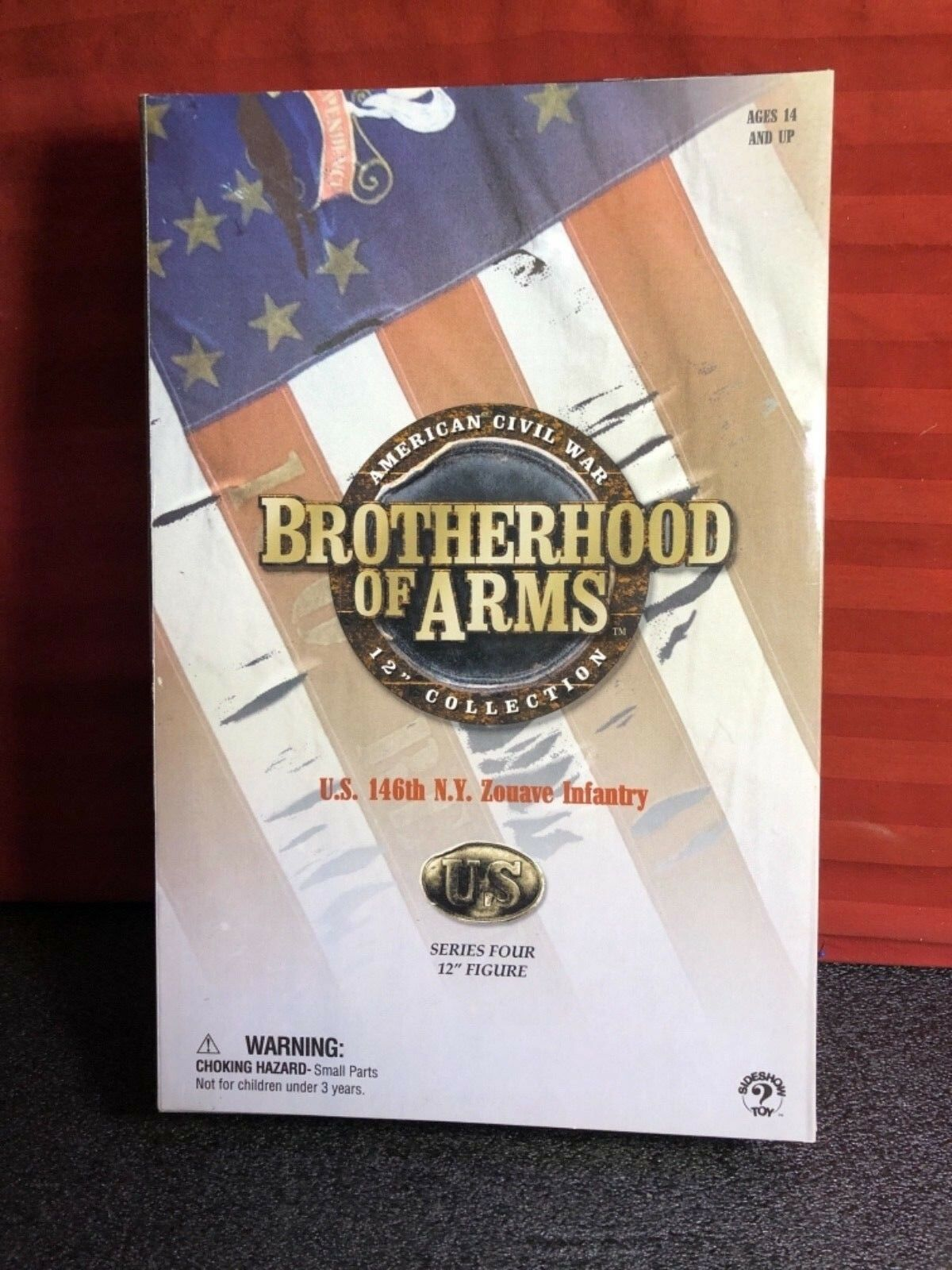 New SIDESHOW Brotherhood Of Arms Arms Arms CIVIL WAR U.S. 146th N.Y. Zouave Infantry 0ee1e9