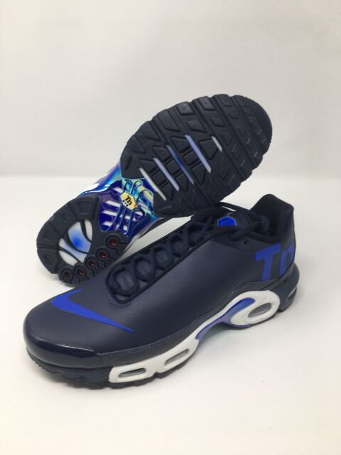 Mens Nike Air Max Plus TN SE SailWhiteChamoisRacer Blue AR4251 100 Running Shoes ar4251 100