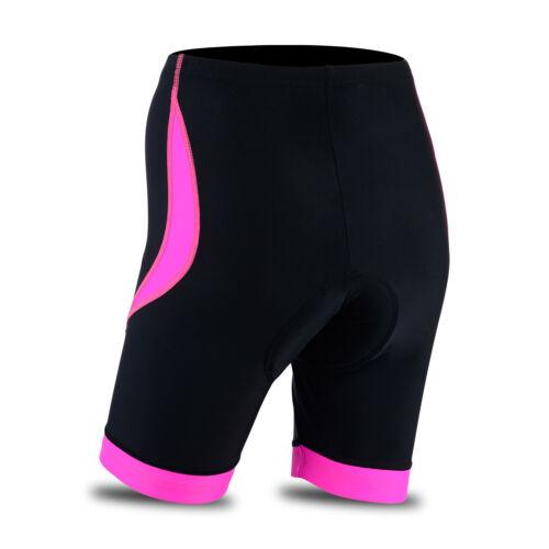 Femmes Cyclisme Collants Short Rembourré Femmes Short Cool Max Anti bac Pad