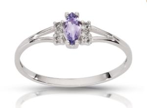 14k-Gold-Verlobungsring-Gold-Tansanite-Ring-585-Diamant-Ring-6-Diamanten