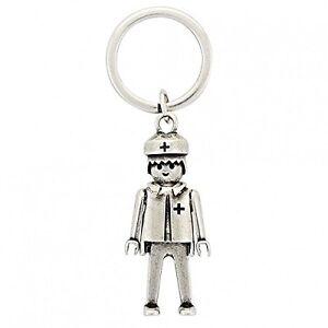 Llavero-LAF-Metal-con-Forma-De-Personaje-Playmobil-Medico-Grande
