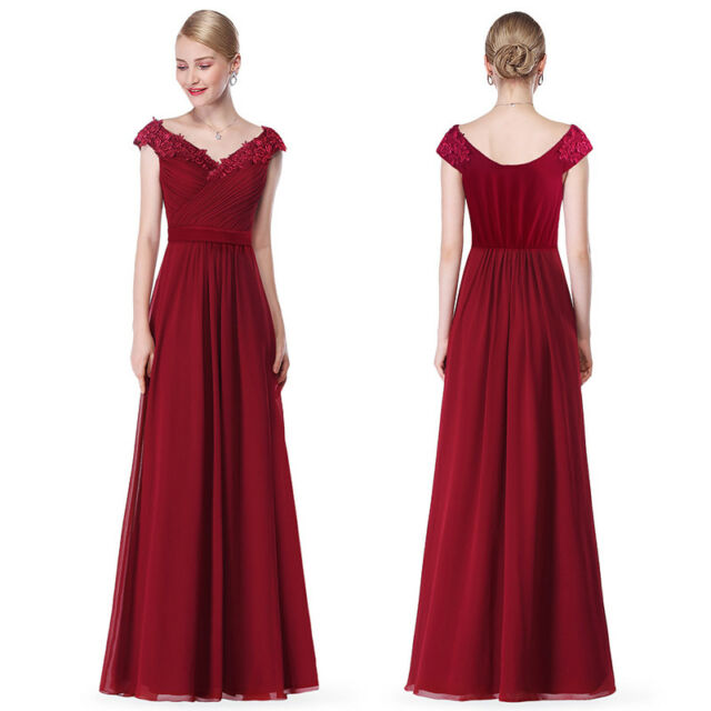 Cheap Long Chiffon Party Dresses Formal Evening Party Prom Ball Gowns Cocktail
