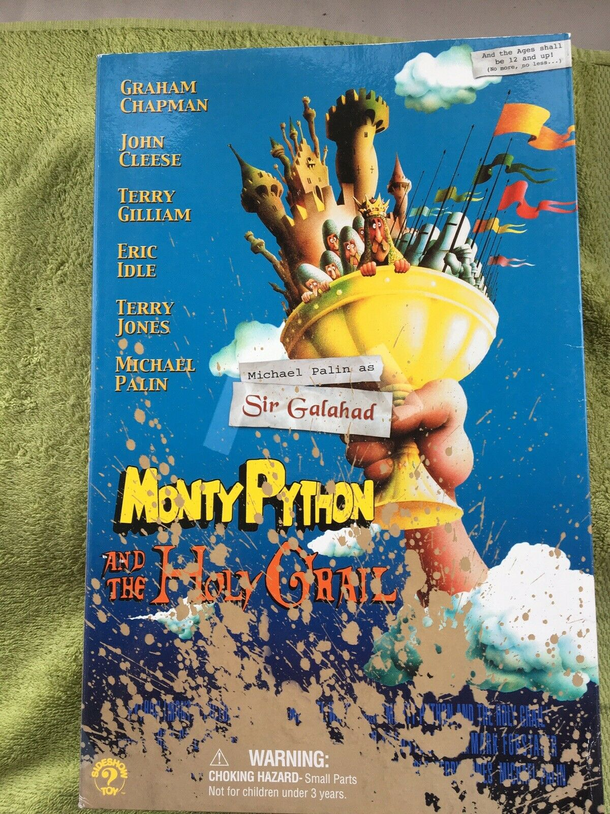 Monty Python and the Holy Grail Action Figure Sir Galahad, Dirty Knights