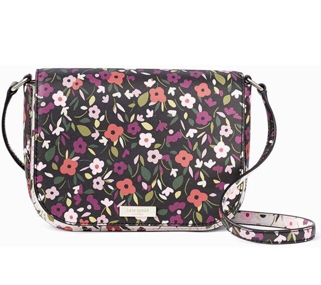 2c499a97f3ae Kate Spade Laurel Way Boho Floral Large Carsen Crossbody Bag Wkru5523