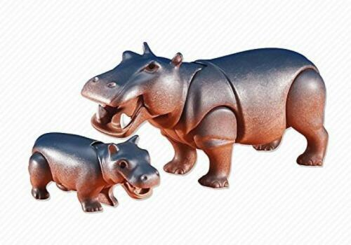 Playmobil Add-On Series Hippo with Baby