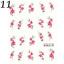 Nail-Art-Water-Decals-Transfer-Stickers-Fiori-Farfalle-Decorazione-Unghie miniatuur 15