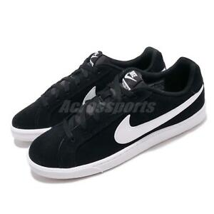 Nike Court Royale Suede Black White Men Casual Shoes Sneakers 819802 ... 0e487ce01