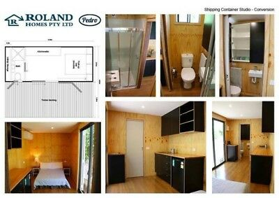 20ft Shipping Container Studio/Granny Flat/Office/Holiday Rental Tiny House  | eBay