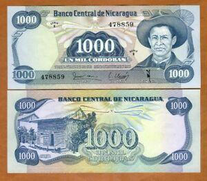 50000 50,000 Cordobas, 1989 Emergency Issue Nicaragua UNC P-161