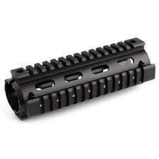 "6.7"" inch Quad Rail Handguard 2-pc Drop In Carbine Length 6061-T6 aluminum"