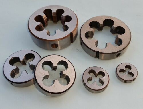 12UN Dies Threading 2-12UN 1pcs HSS Right Hand Die 2/""