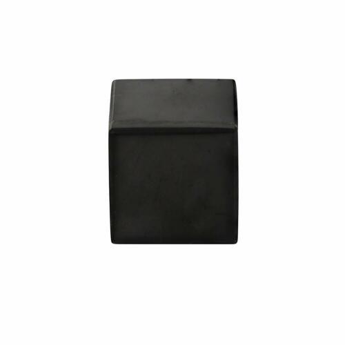Polished Shungite Cube 5 cm Contains Fullerenes for EMF Protection Meditation