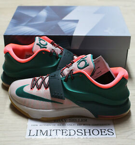 san francisco 93e06 b81d3 Image is loading NIKE-KD-VII-7-EASY-MONEY-653996-330-