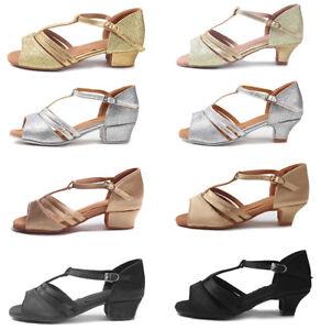 Ballroom-Salsa-tango-heeled-latin-dance-shoes-children-girls-women-size-30-41