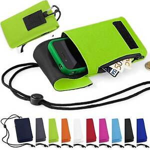 Mobile-Smart-Cell-Phone-Case-Money-Belt-Neck-Strap-Zip-Card-Holder-Pouch-Wallet