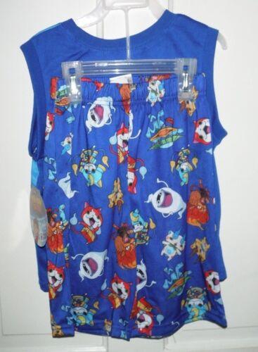 New Yo-Kai Boys Shorts 2 Pc Sleepwear Set