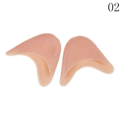 2x Ballet Dance Shoe Pads Cushion Soft Silicon Gel Protector Pointe Toe CoveRCKH