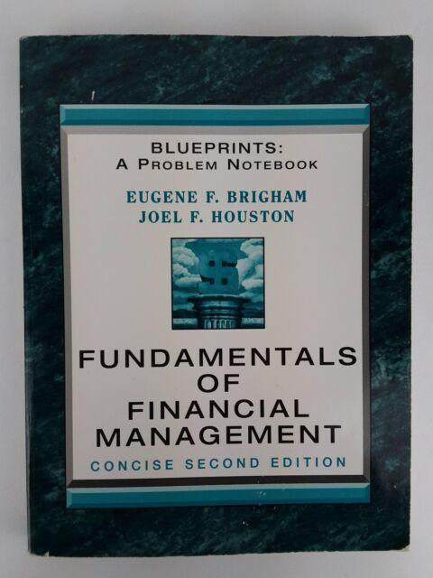 Fundamentals of Financial Management : Blueprints: A Problem Notebook Second Ed.