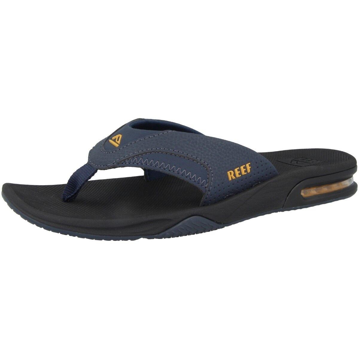 Reef Fanning tira dedo sandalias Chanclas Zapatos Baño Zapatos Chanclas para baño Navy rf002026nay a5f6ce