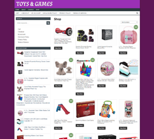 TOYS-amp-GAMES-UK-WEBSITE-FULLY-STOCKED-ONE-YEARS-HOSTING-NEW-DOMAIN