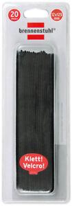 1164340 Seien Sie In Geldangelegenheiten Schlau Tv, Video & Audio Brennenstuhl Klett-kabelbinder Schwarz 12mm X 125mm