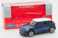 Mini Cooper S Paceman, Welly 44047, scale 1:43, model toy car boy gift