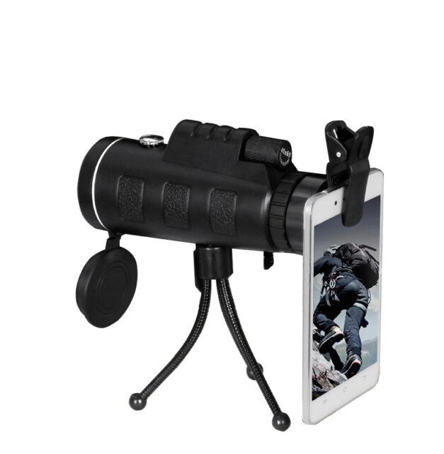 PANDA 40X60 HD Dual Focus Monocular Telescope Hunting Camping Hiking With Tripod