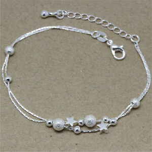 Bracelets Ladies Silver Fashion Bracelet Pretty And Colorful Costume Jewellery