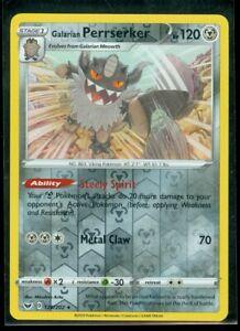 GALARIAN PERRSERKER 128//202 Pokemon SS01 Sword /& Shield Base Set HOLO RARE Card