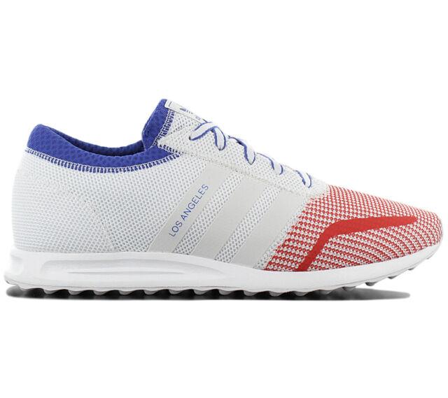 For Men Adidas Originals White White Los Angeles Sneakers