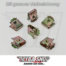 10x BMW METALL HALTERUNG KLAMMERN KLEMME MUTTER 10,3 x 15 x 12,8 BMW E X Z #NEU#