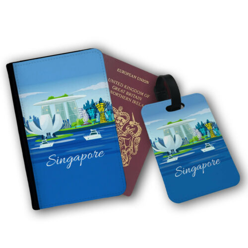 Singapour merlion South East Asia Garden Bay Voyage protection Flip cover case