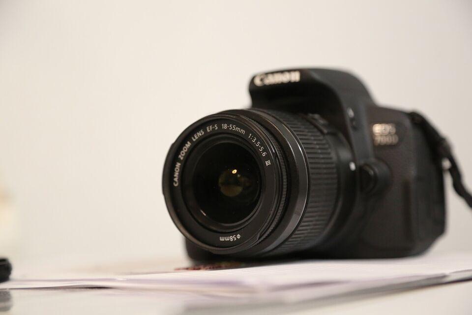 Canon, 700D, spejlrefleks