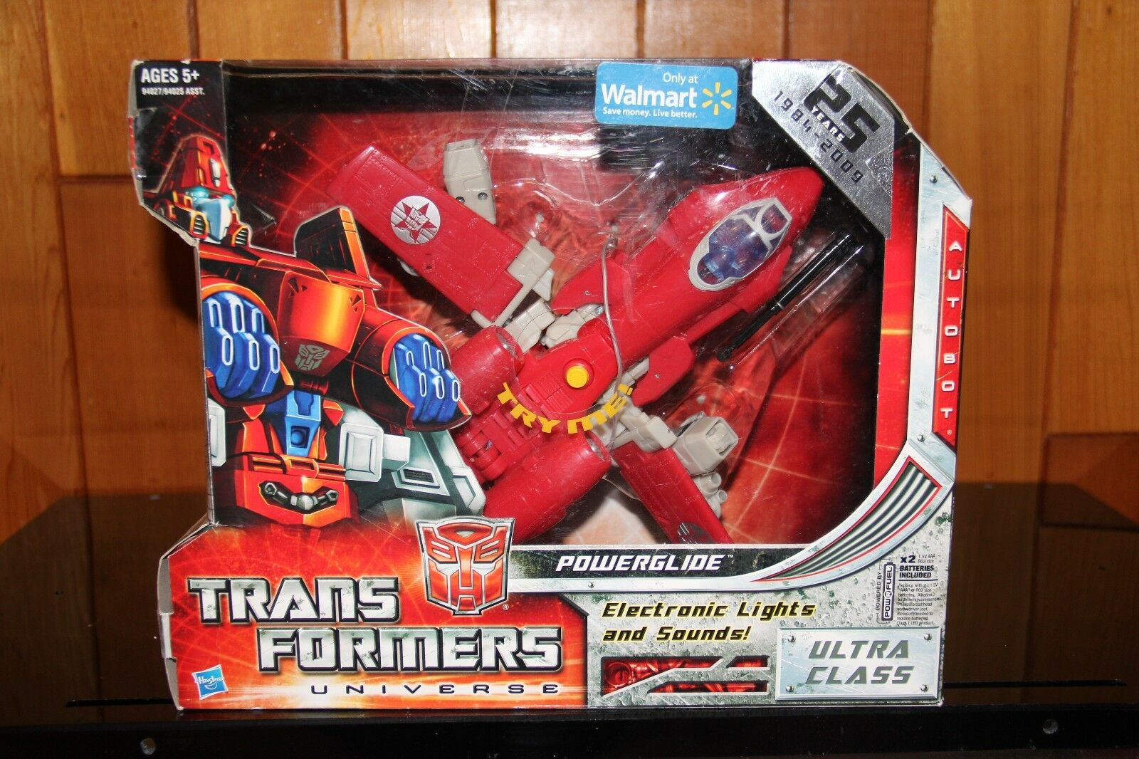 Transformers Universe Classics Powerglide [G1 Red] Walmart Exclusive