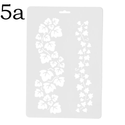 Letter Alphabet Number Layering Stencils Painting Scrapbooking Paper Cards-CHFCA