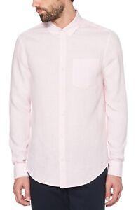Parfait cotone Slim Camicia di da in originale Fit originale uomo Pink Penguin lino fxPqISnw