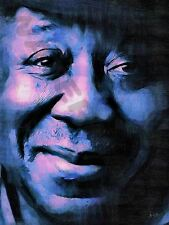 MUDDY WATERS BLUES ICON ART PRINT POSTER OIL PAINTING LFF0131