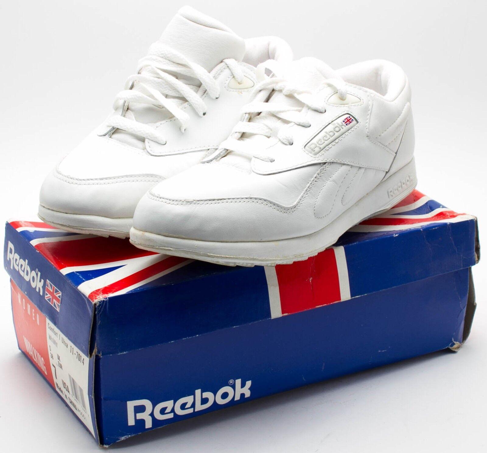 Reebok femmes Vintage 607 MS OG Confort 1 Ultra chaussures 11-7014 blanc Taille 7