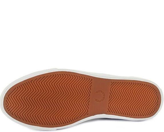 Fred Perry para para para hombre Kendrick con punta Puño cepillado revestido Zapatillas Zapatos B8265-C60 4c1e94