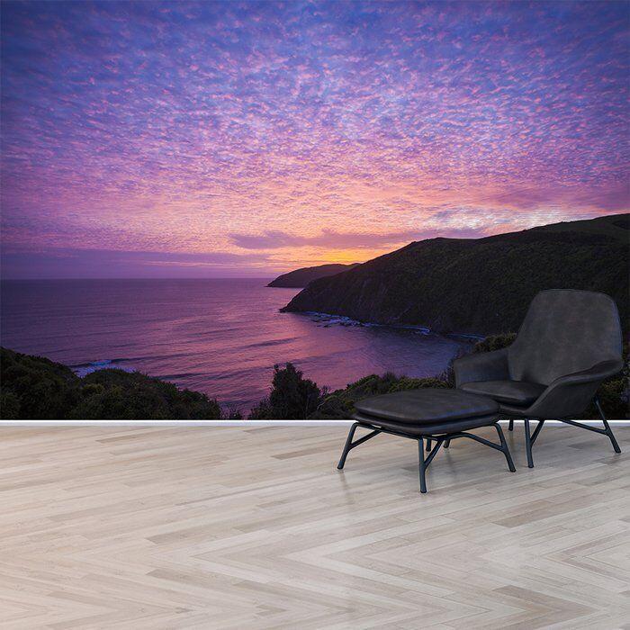 Fototapete Ozean Neuseeland Lila Dekor Haus Schlafzimmer ...