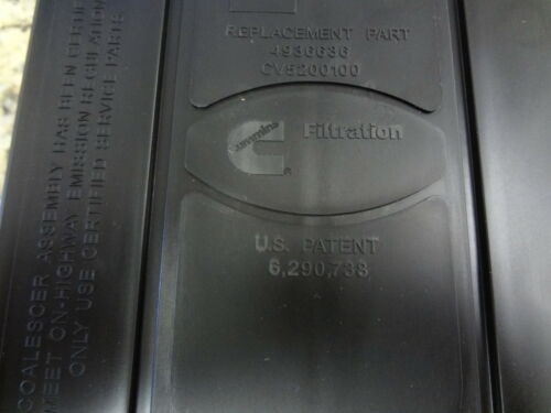 07-19 Dodge Ram Cummins 6.7L 6.7 L Diesel Crankcase Breather Filter Mopar Oem