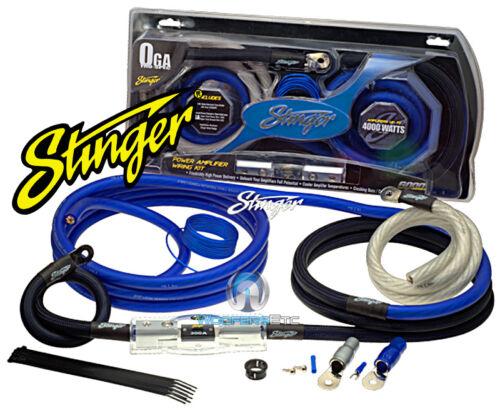 SK6201 STINGER 1//0 GAUGE 6000 AMP WIRE POWER AMPLIFIER INSTALLATION KIT SK-6201