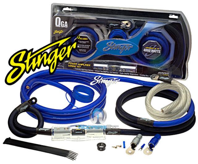NEW STINGER TRU SPEC 1//0 AWG GAUGE CAR STEREO AMP INSTALL POWER WIRING KIT 0G