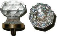 CLASSIC STYLE GLASS KNOB HANDLE DRESSER HOOSIER C0311