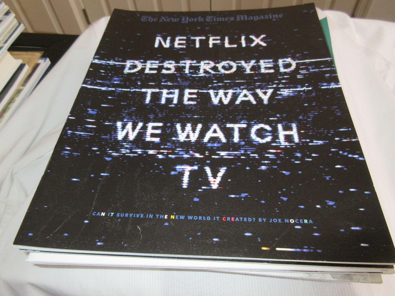 Netflix Destroyed The Way We Watch TV , New York Times