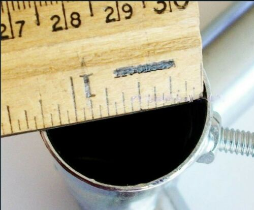 """P4IB ~ 1/"""" Pipe Canopy Parts 4 way EDGE LOW PEAK UP ANGLE FITTING"""