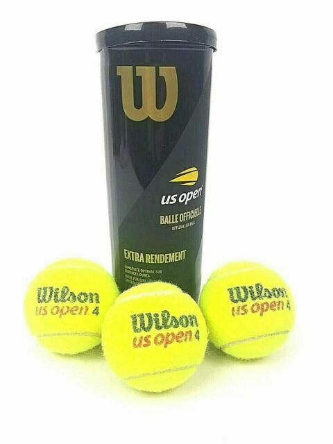Wilson Extra Duty Tennis Balls Tennis Championship Pack Of 4 Balls Fast Shipping