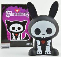 Skelanimals Series 3 Gitd Vinyl 3-inch Mini-figure - Jack The Rabbit